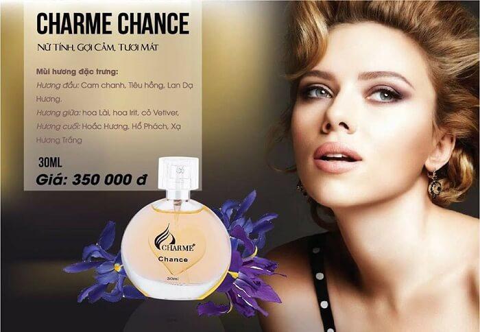 Nước Hoa Nữ Charme Chance 30ml h4