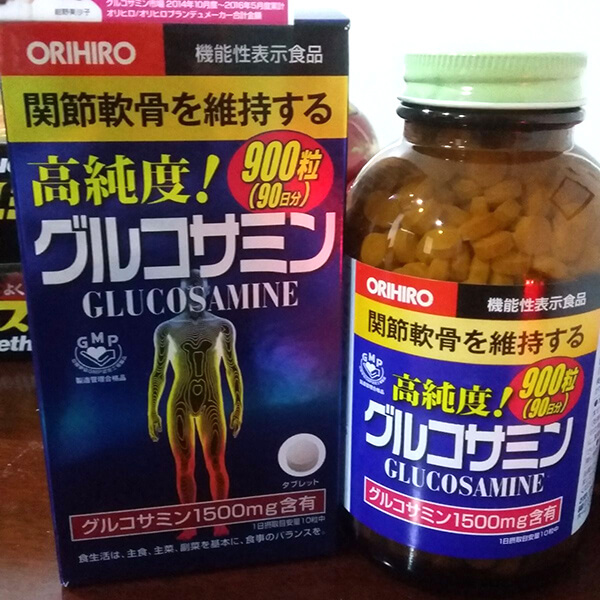 thuoc glucosamine orihiro 1500mg cua nhat chong thoai hoa xuong khop anh 5