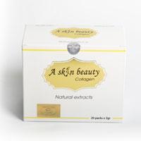 A Skin Beauty Collagen Học Viện Quân Y Dưỡng Trắng Mờ Nám 20 gói x 2g