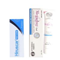 Combo Trị Mụn Và Thâm - Hiruscar Post Acne 5 gram và Megaduo 15 gram