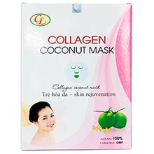 Mặt nạ dừa Collagen – Trẻ hóa làn da