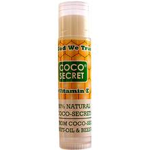 Son dưỡng môi dầu Dừa sáp ong Coco-Secret - Dưỡng ẩm trị khô môi