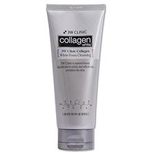 Sữa rửa mặt trắng da chiết xuất Collagen 3W Clinic Collagen White Foam Cleansing 180ml